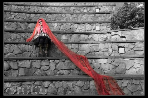 A little selective colour for effect