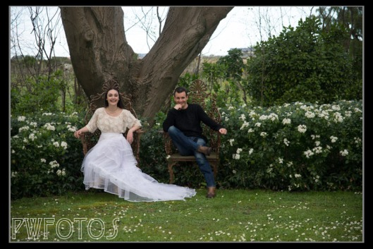 Richard and Lydia (One of our three models)