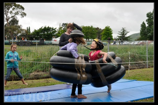 A lot of fun can be had with car inner tubes