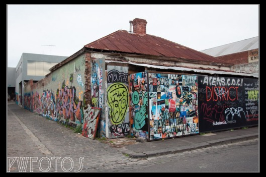 This old house in Fitzroy is all boarded up and I suspect will shortly be demolished to make way for apartments