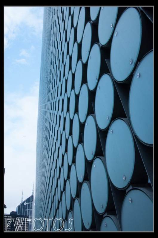 The exterior of part of RMIT