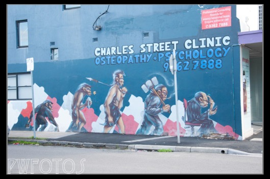 Another example  from Seddon although this is is not exactly graffiti in style