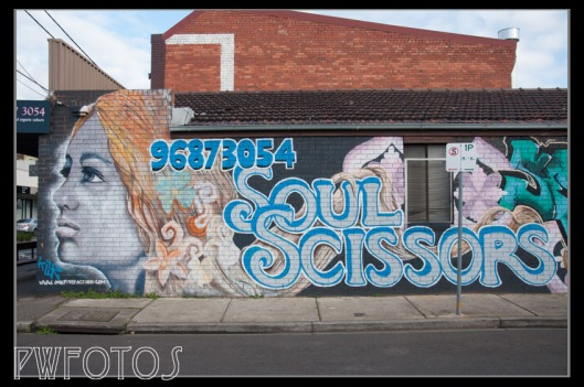 In Seddon art is used to clearly show the business
