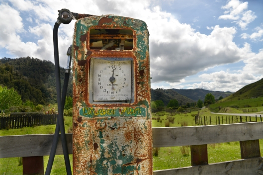 An old petrol pump that we found on the edge of the road. The judge thought that the crop was too tight and that he could not get the context that the pump was in.