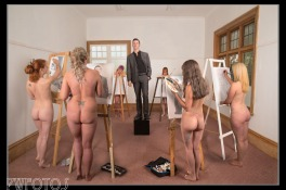 The Naked Art Class